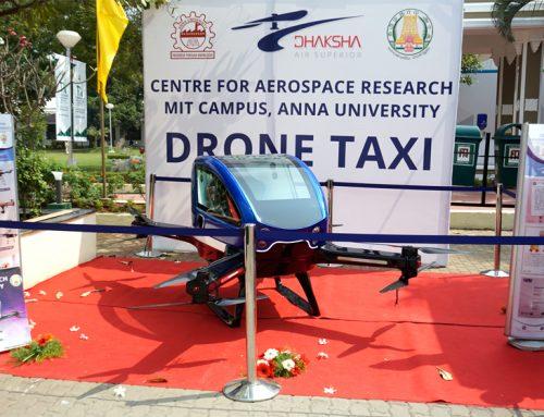 Drone Taxi | Global Investors Meet (GIM) – 2019 | Team Dhaksha