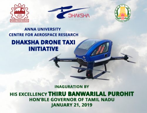 Drone Taxi Inauguration | Governor of Tamilnadu